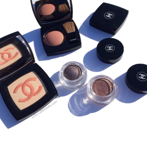 Chanel Fall 2015: New Moon & Illusoire Illusion d'Ombre Eyeshadow, Alezane Joues Contraste Blush & Chanel Infiniment Powder