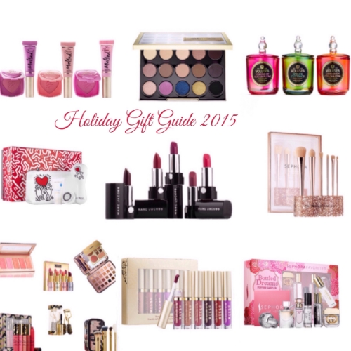 Holiday Gift Guide 2015 for the Beauty Lover