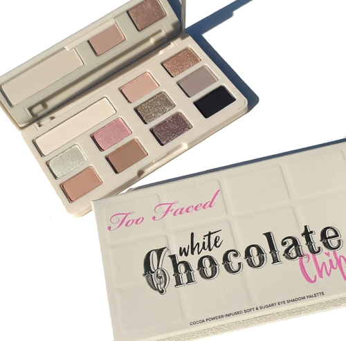 Too Faced White Chocolate Chip Swatches and First Impressions