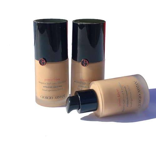 Giorgio Armani Beauty Power Fabric Foundation Review and Swatches: 5.5, 6, 6.5