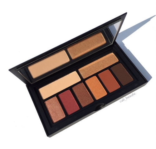 Smashbox Covershot Ablaze Eyeshadow Palette Review and Swatches