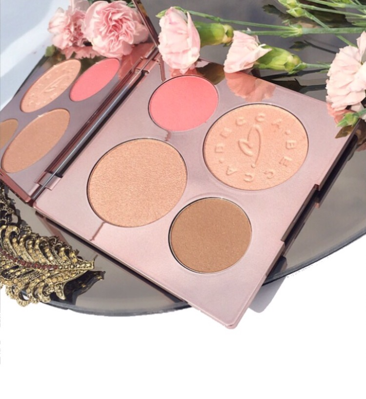 Becca X Chrissy Teigen Glow Face Palette Overview and Swatches