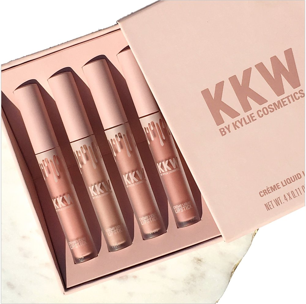 KKW X Kylie Cosmetics Swatches and First Impressions: Kimberly, Kiki, Kim, Kimmie