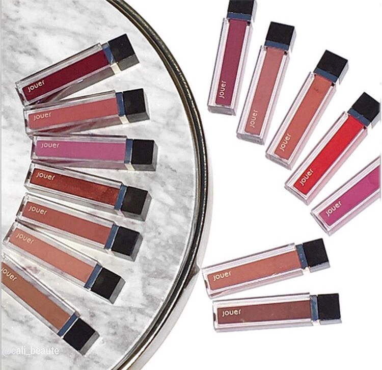 Jouer High Pigment Lip Gloss Review & Swatches