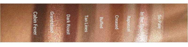 Makeup Geek In the Nude Eyeshadow Swatches |www.calibeaute.com