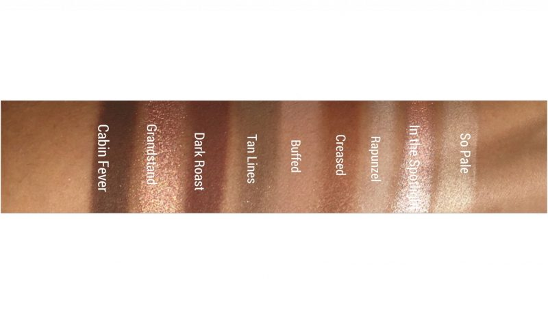 Makeup Geek in the Nude Eyeshadow Palette Swatches|www.calibeaute.com