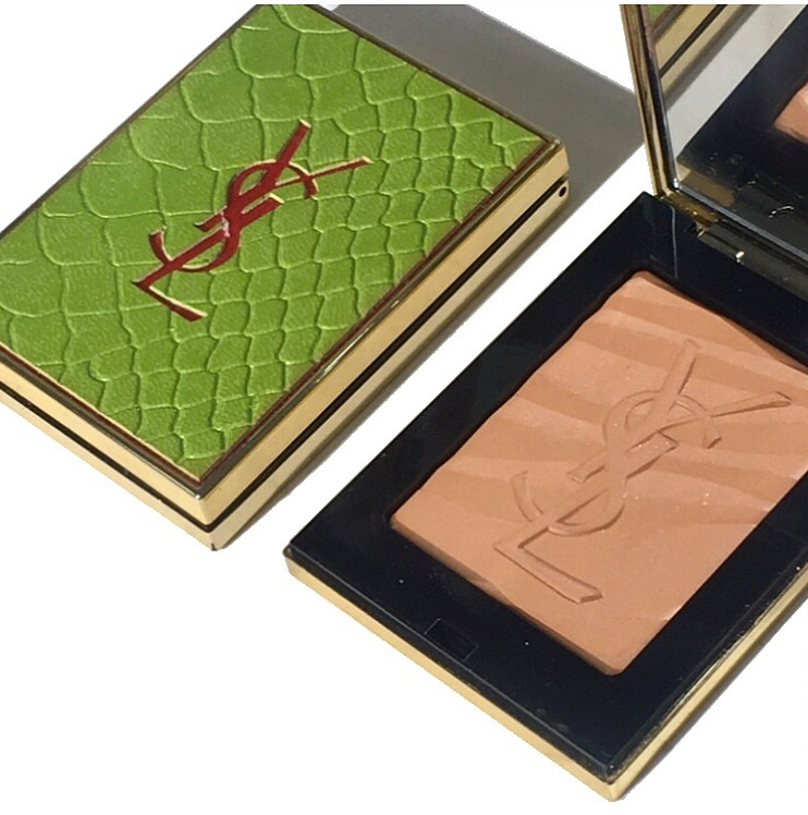 YSL Summer 2017: Les Sahariennes Bronzing Stones Fire Opal Swatches and Review