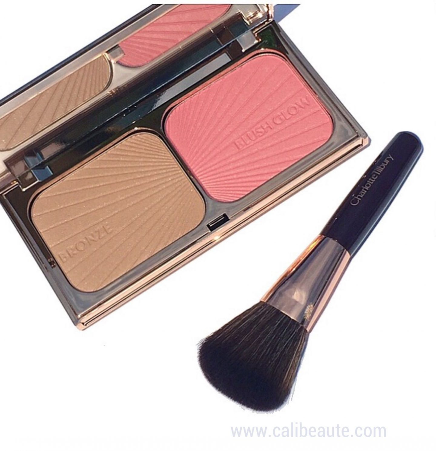 Charlotte Tilbury Bronze Blush Glow Nordstrom Anniversary swatches |www.calibeaute.com