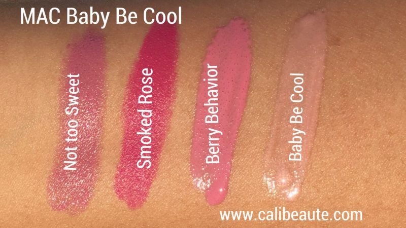 MAC Baby Be Cool Lip Kit Swatches Nordstrom Anniversary|www.calibeaute.com