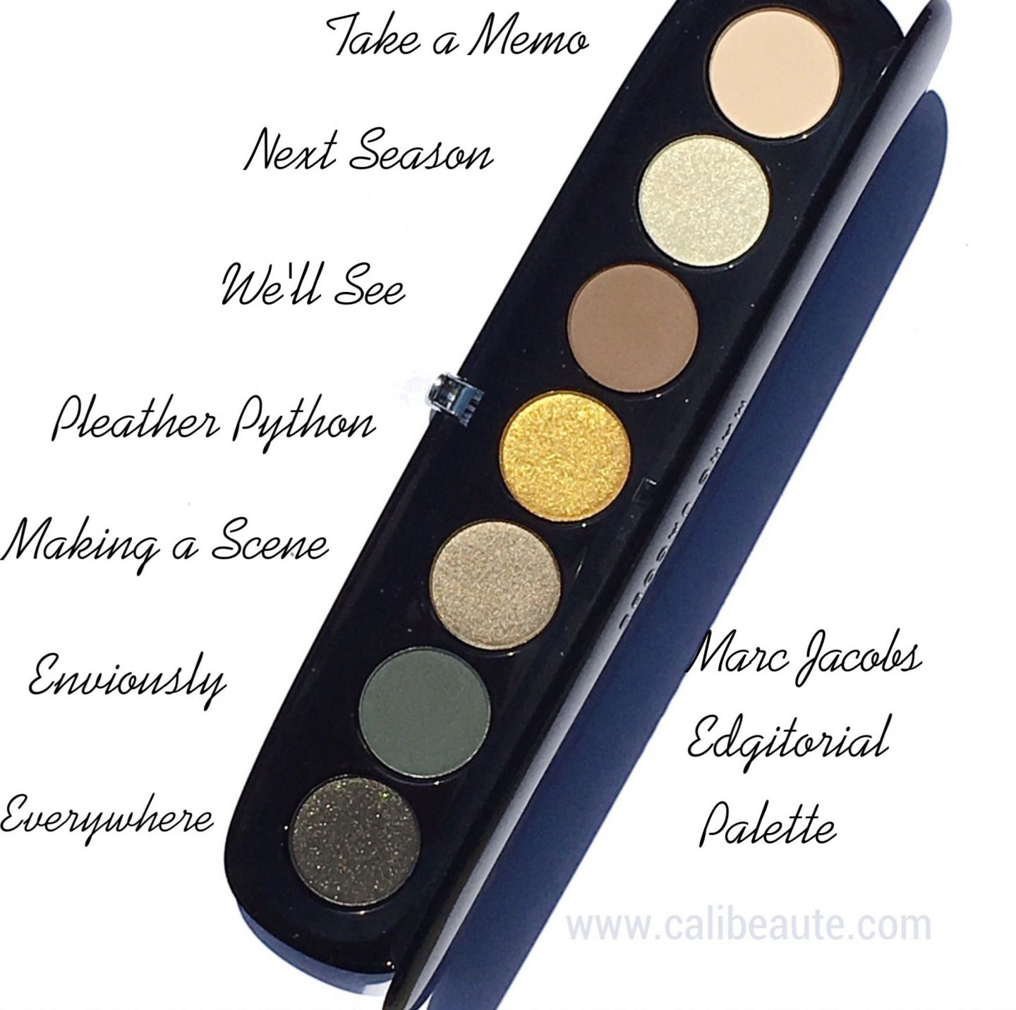 Marc Jacobs Edgitorial Palette Review |www.calibeaute.com