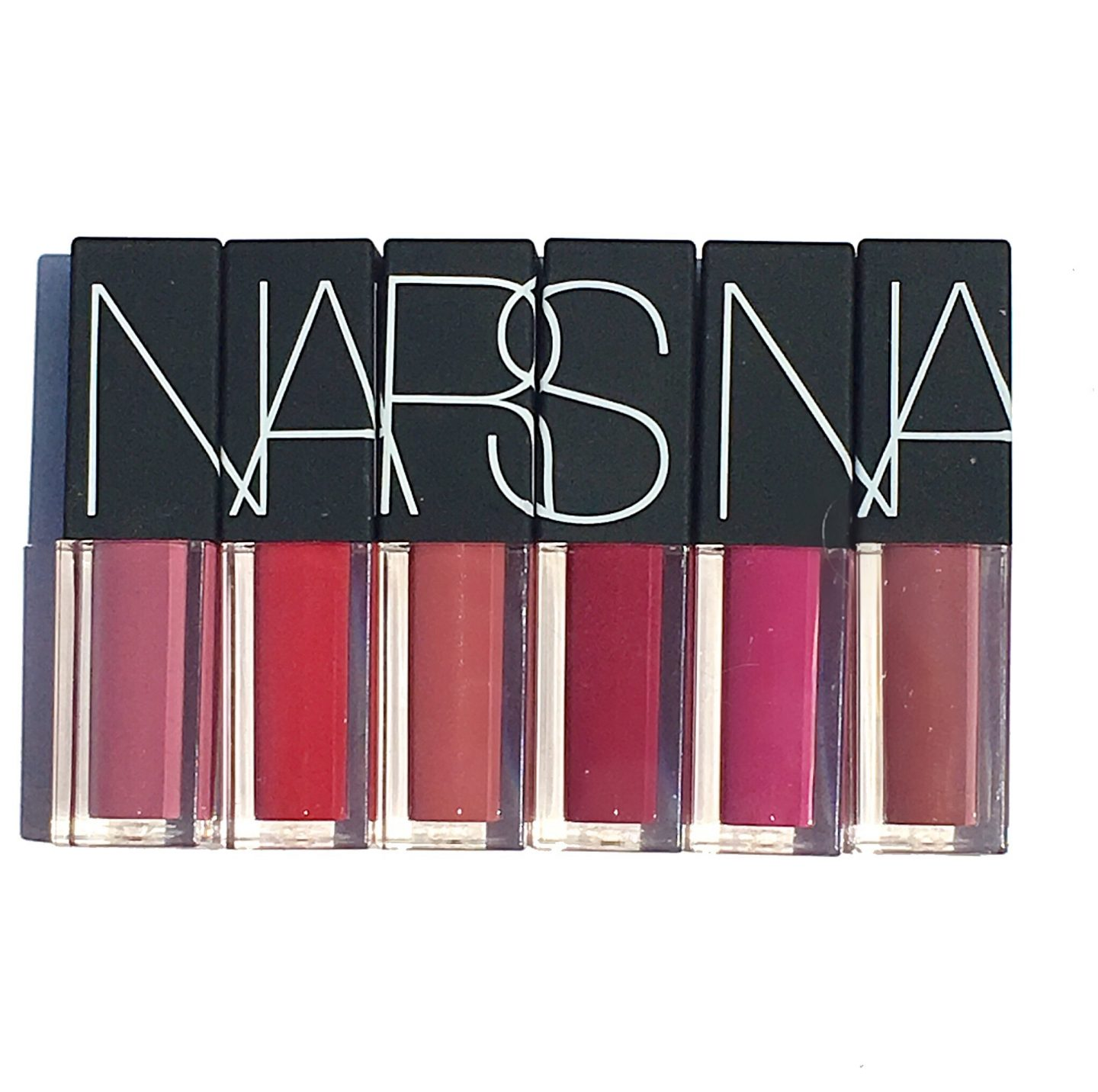 Ulta Exclusive: NARSissist Velvet Lip Glide Set Swatches & Review