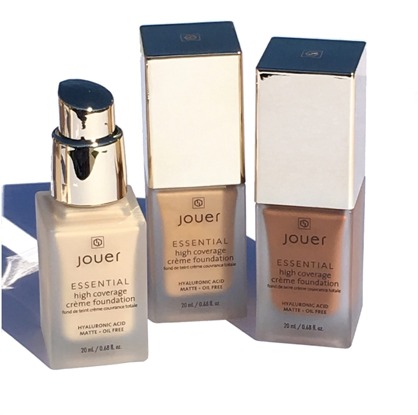Jouer Essential High Coverage Creme Foundation Review & Swatches