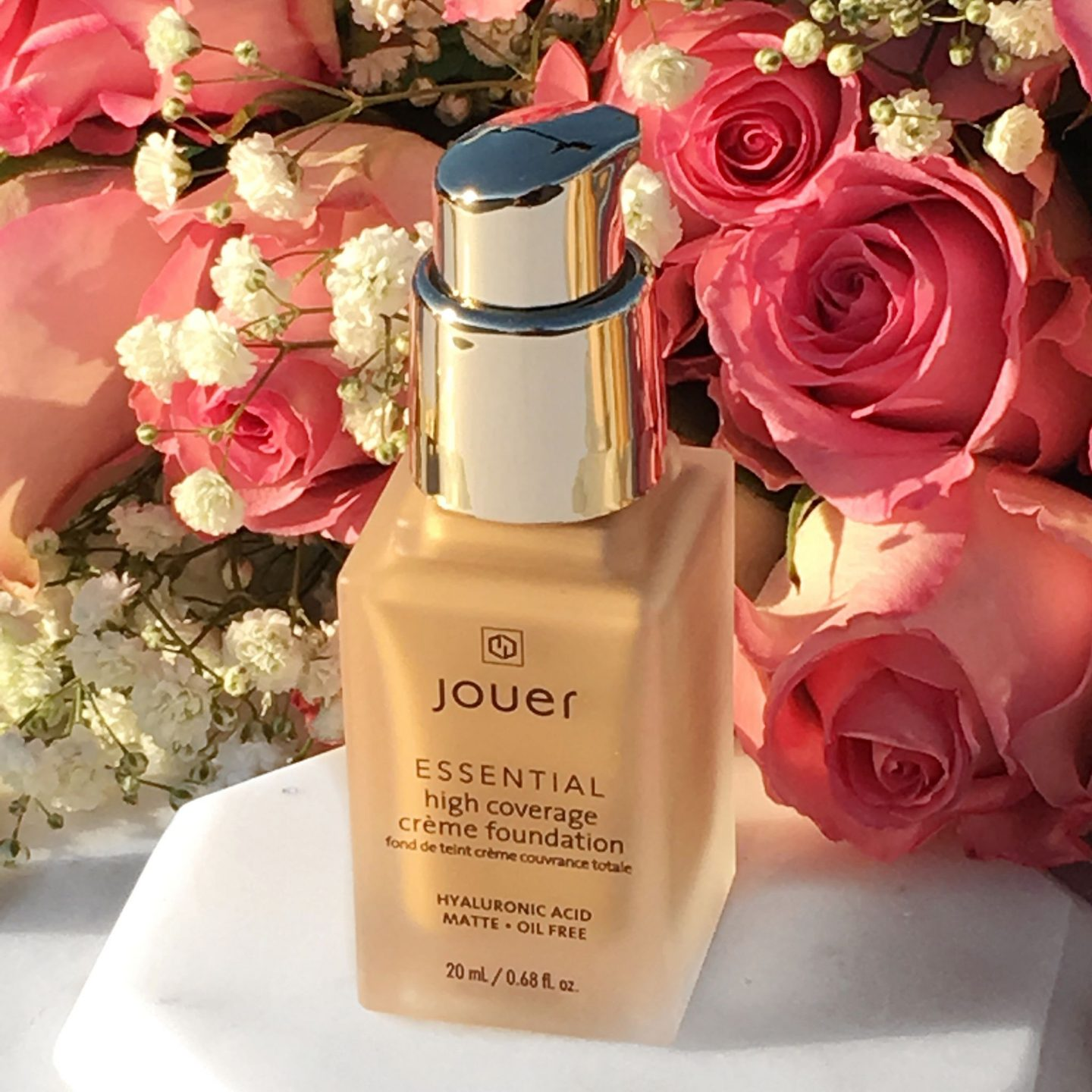 Jouer Cosmetics Essential High Creme Coverage Foundation swatches and review www.calibeaute.com