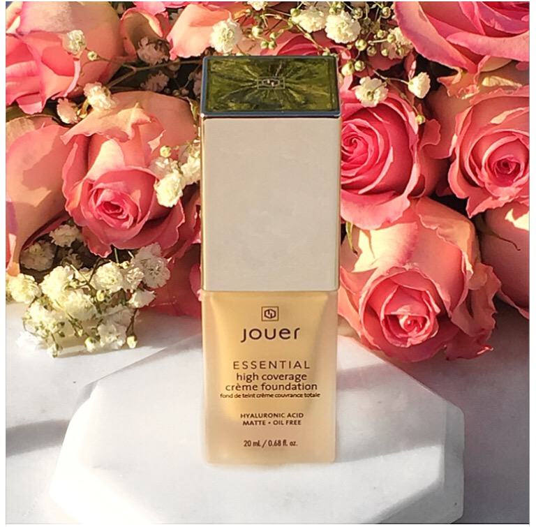 Jouer Essential foundation review swatches