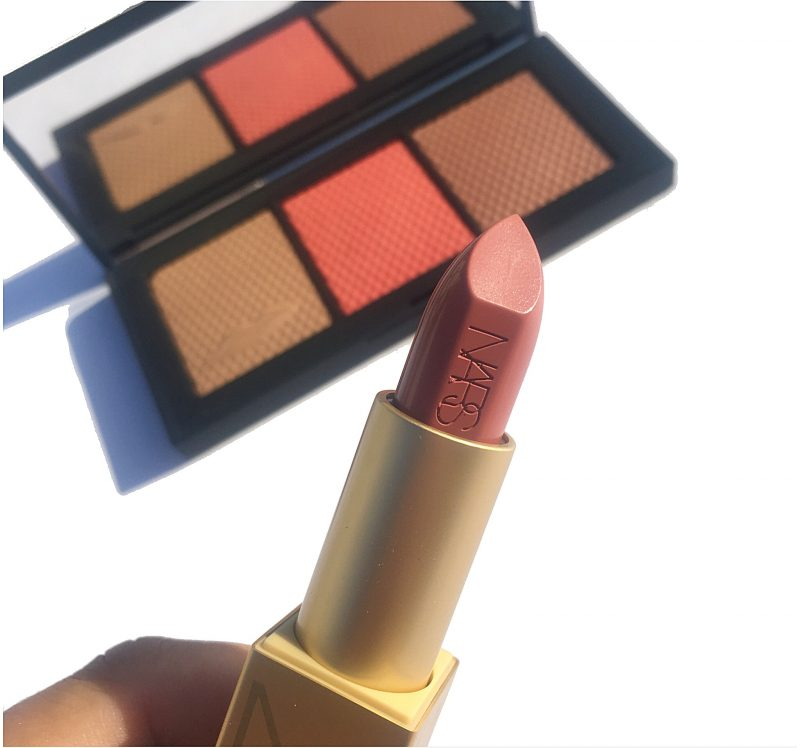 NARS Anita Lipstick Holiday Kiss Collection Review and Swatches, www.calibeaute.com