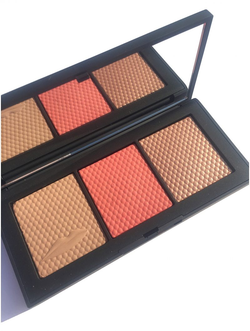 Nars Man Ray Veil Cheek Palette review and swatches www.calibeaute.com