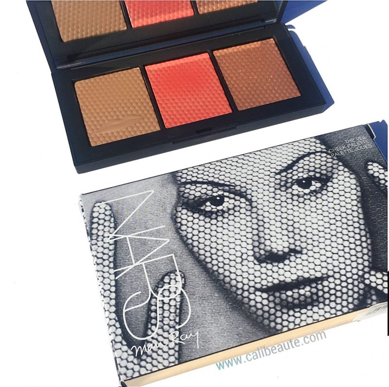 Nars Man Ray Veil Cheek palette swatches review