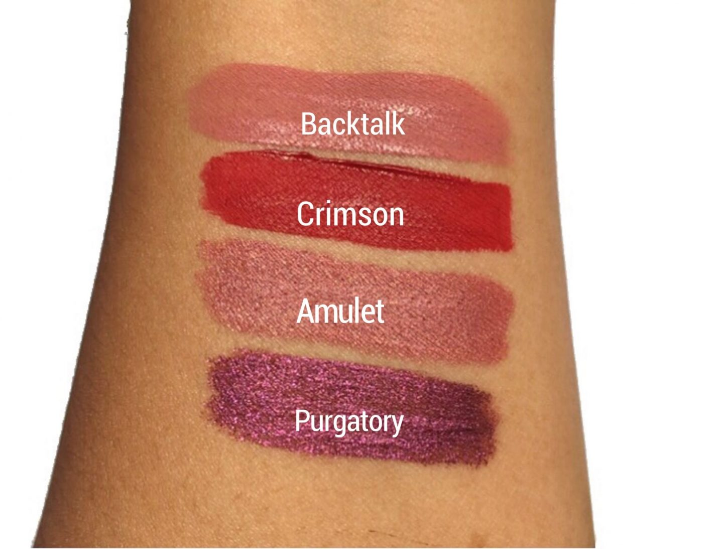 Urban Decay Little Liquid Lipstick Vice Set Swatches Review |www.calibeaute.com