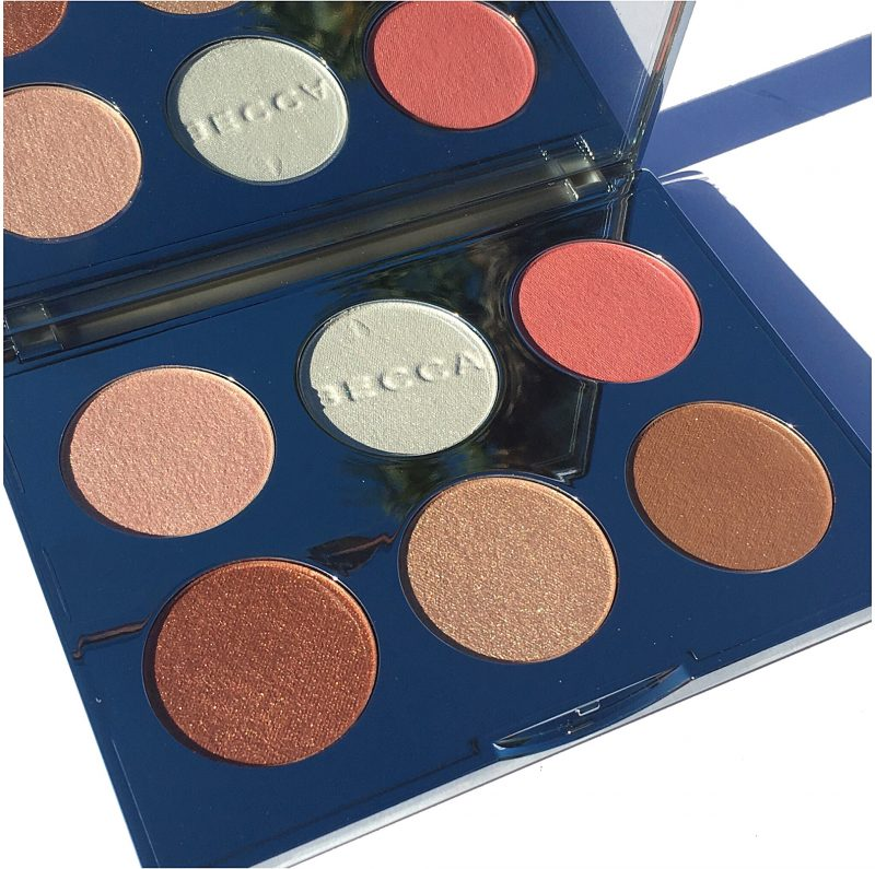 Becca Apres Glow Face palette review swatches www.calibeaute.com