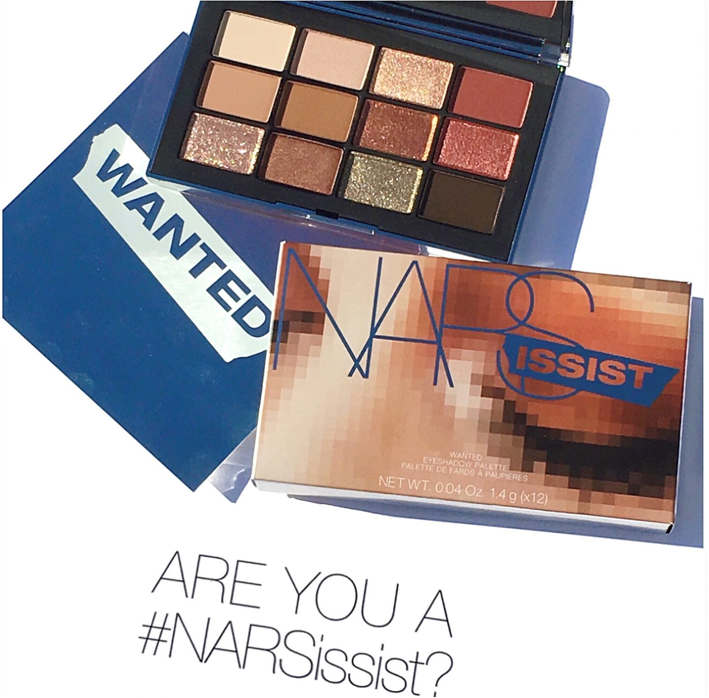 NARS Narsissist Wanted Eyeshadow Palette Overview & Swatches