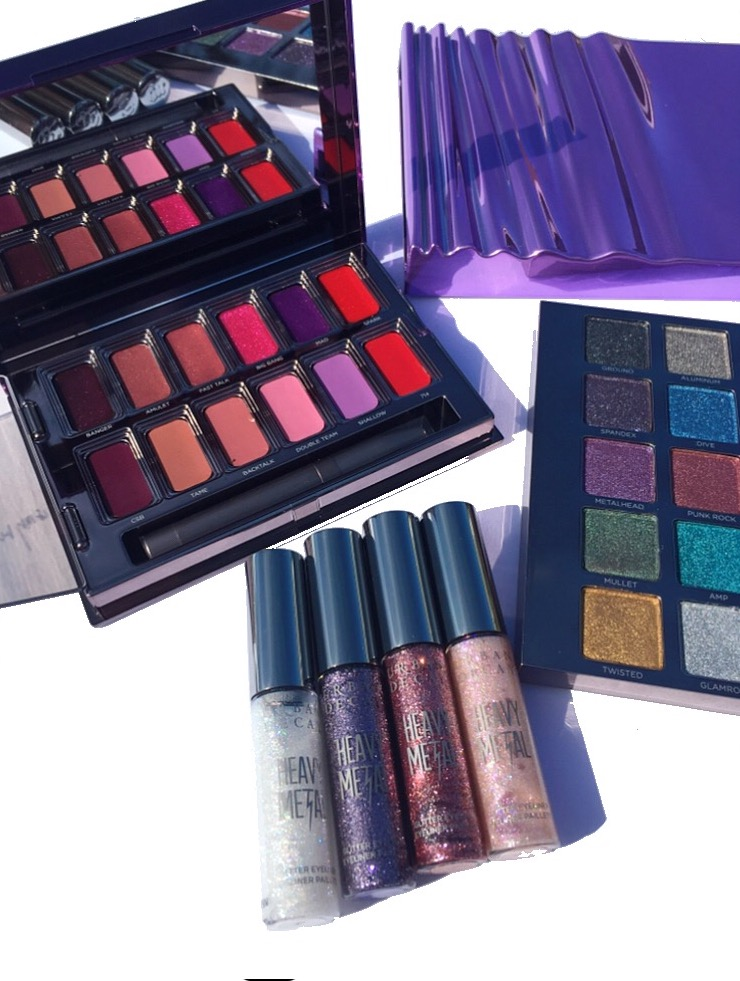 Urban Decay Heavy Metal Holiday Collection review and swatches www.calibeaute.com