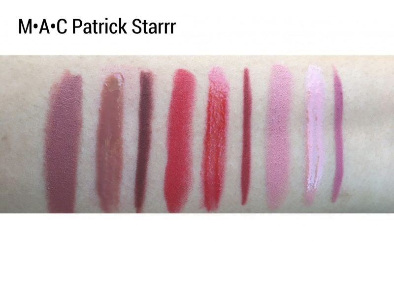 MAC x Patrick Starrr Collection Review and swatches www.calibeaute.com
