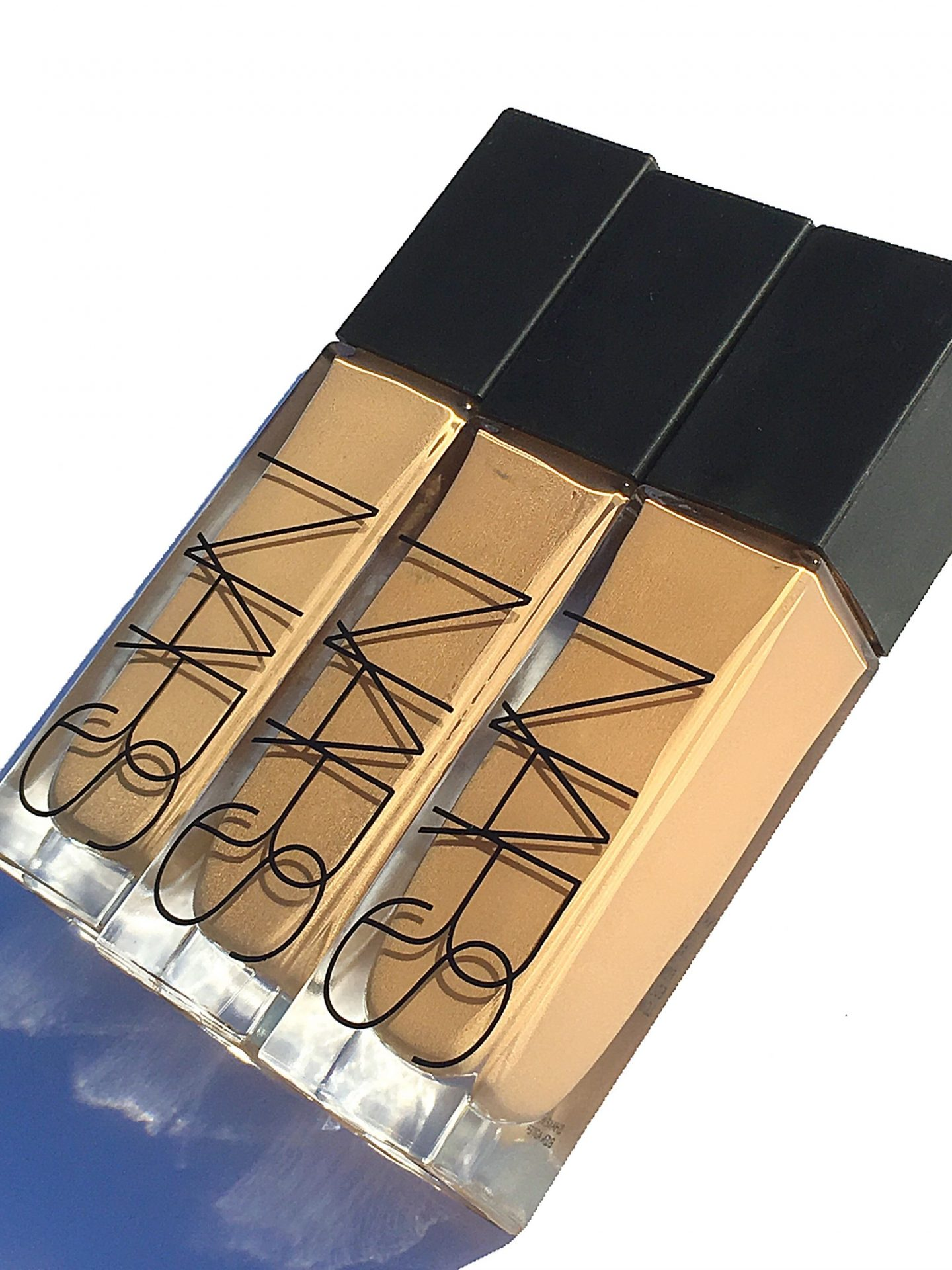 NARS Natural Radiant Long Wear Foundation Review and swatches all shades | www.calibeaute.com