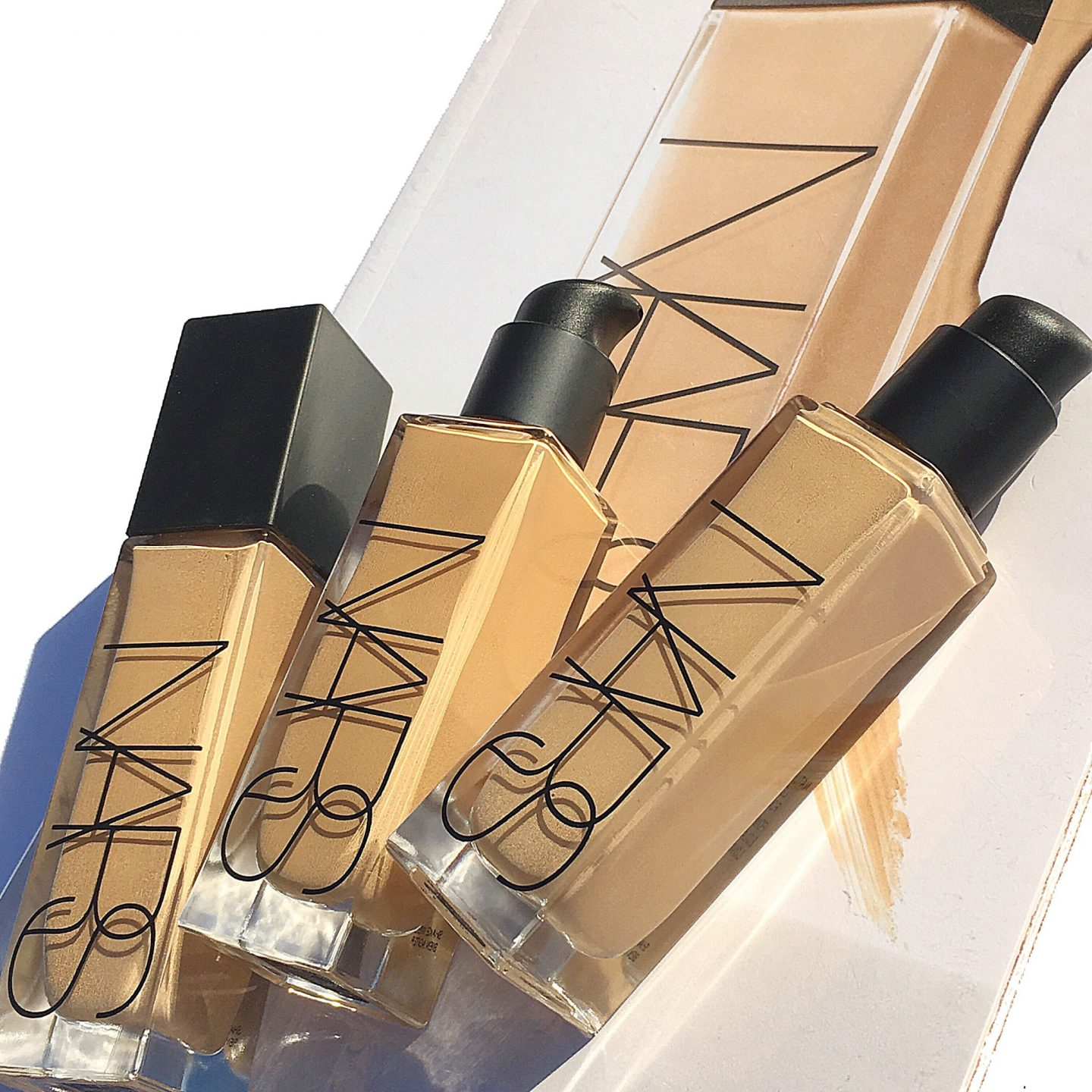 NARS Natural Radiant Longwear Foundation Review & Swatches All Shades