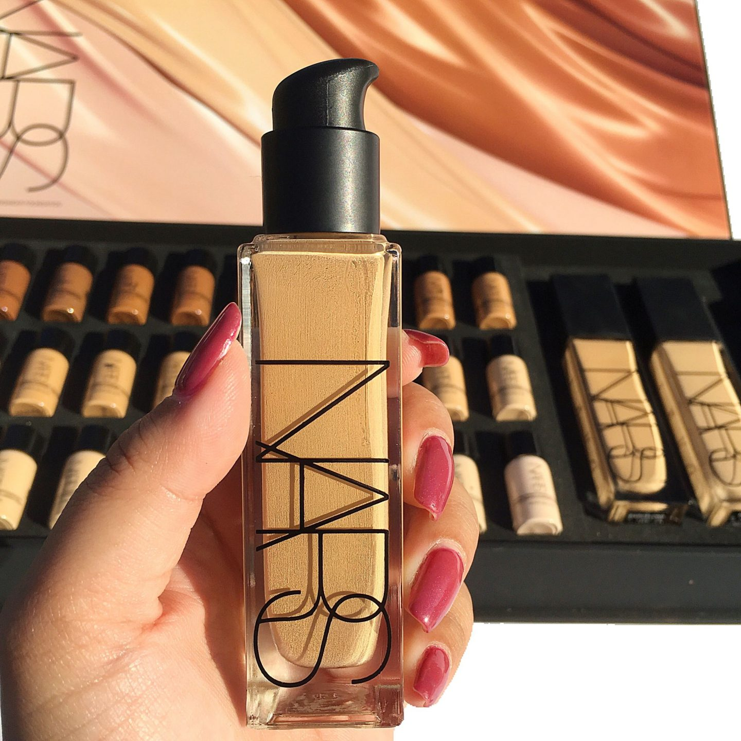 Nars Natural Radiant Longwear Foundation Review Swatches All Shades Cali Beaute