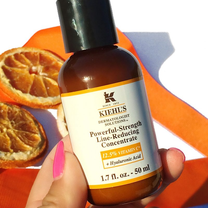 Kiehls Powerful Strength Line Reducing concentrate review