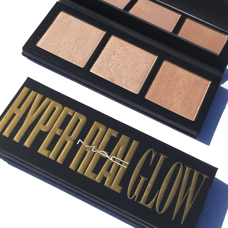 MAC Hyper Real Glow Face Palette Reviews and swatches www.calibeaute.com