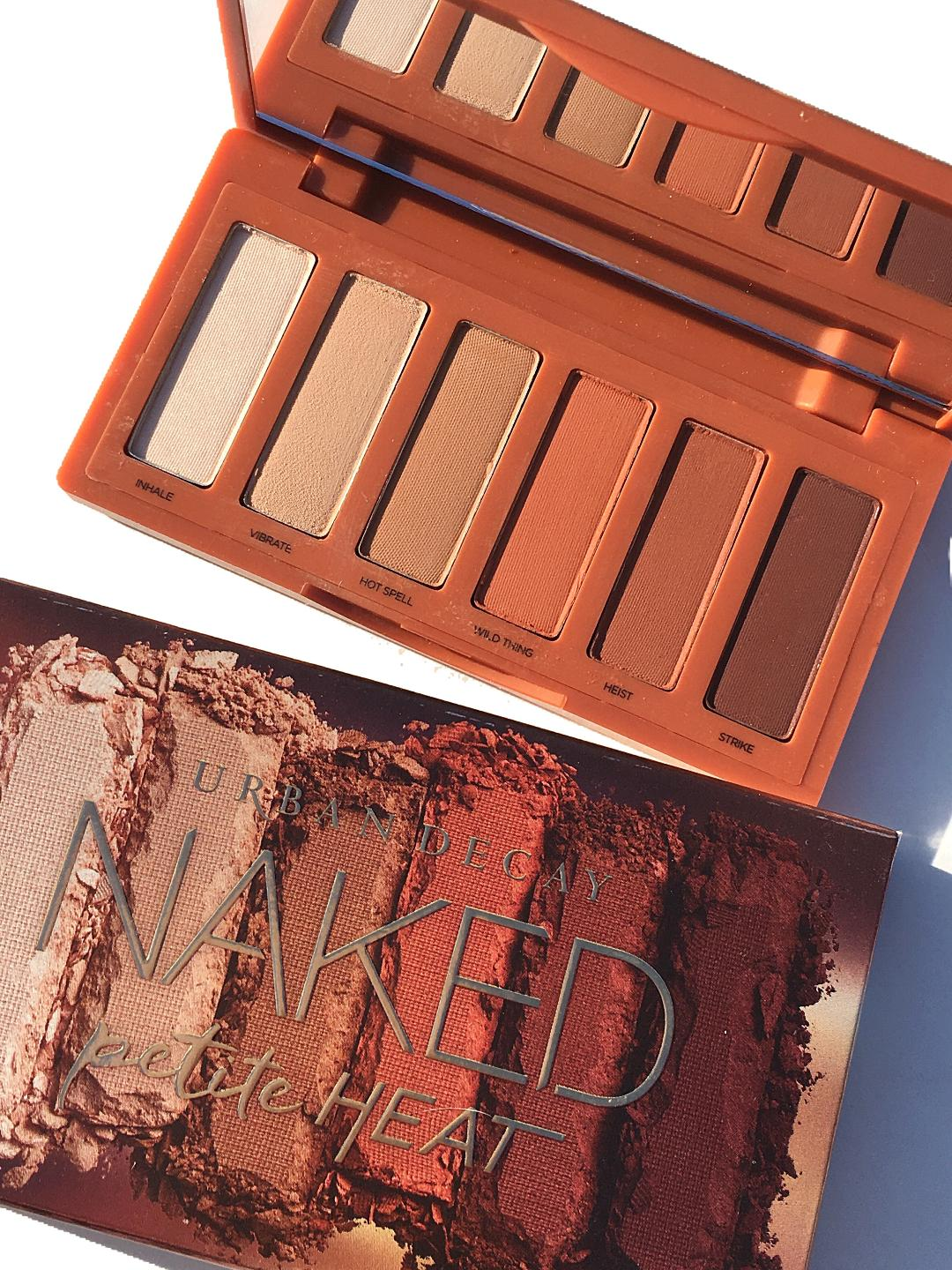 Urban Decay Naked Petite Palette Review & Swatches