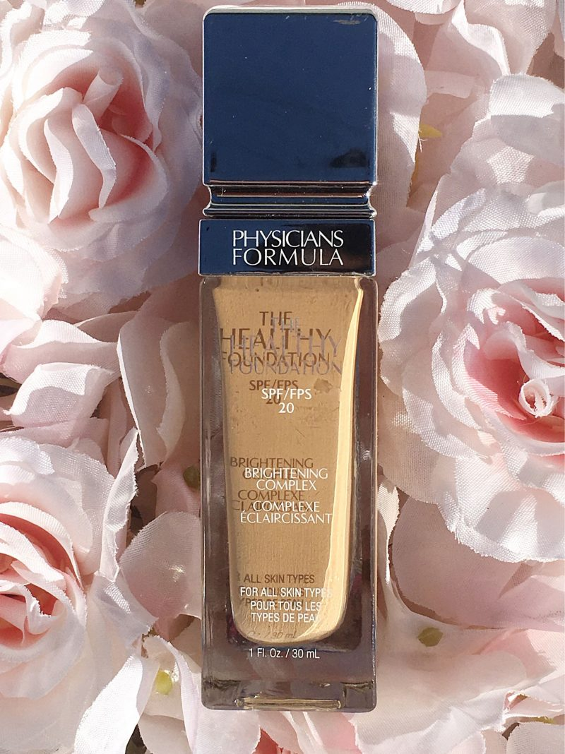 Physicians Formula Healthy Glow Foundation Review www.calibeaute.com