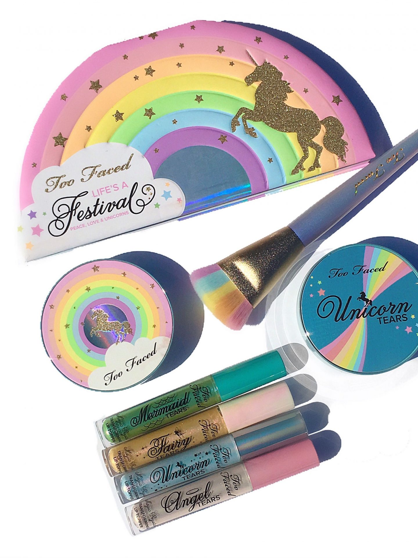 Too Faced Life's a Festival Collection Overview & Swatches