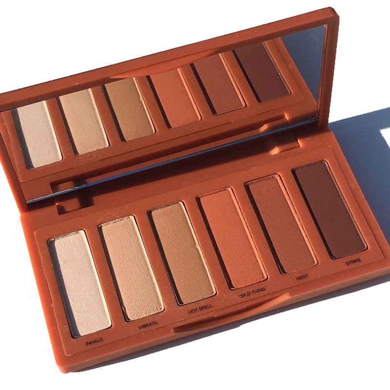 Urban Decay Naked Petite Heat Palette Review and swatches www.calibeaute.com