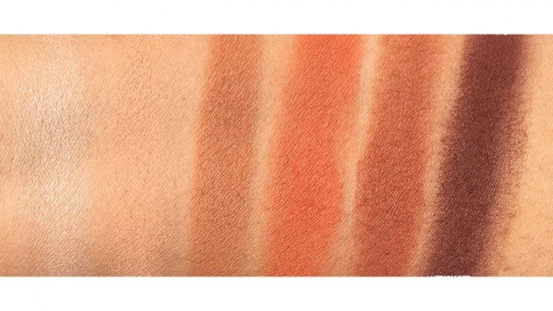 Urban Decay Petite Heat Swatches