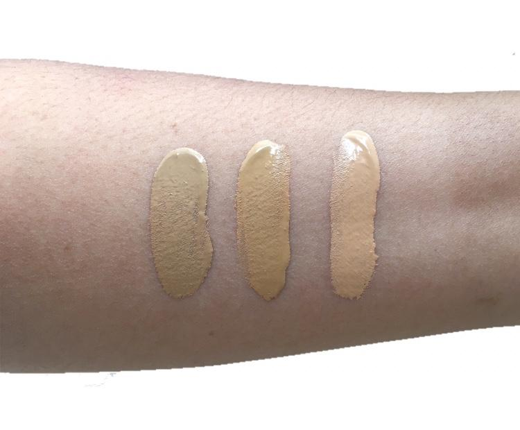 Marc Jacobs Shameless Foundation Swatches