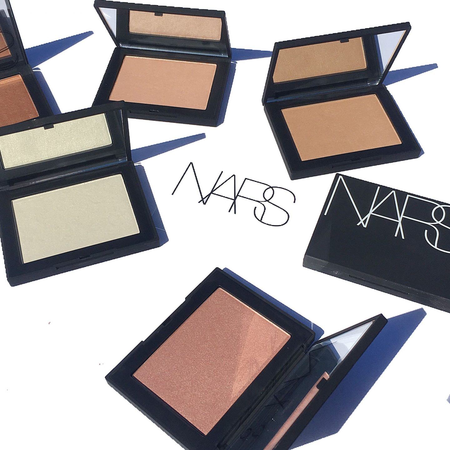 NARS NEW Highlighting Powders: Overview & Swatches