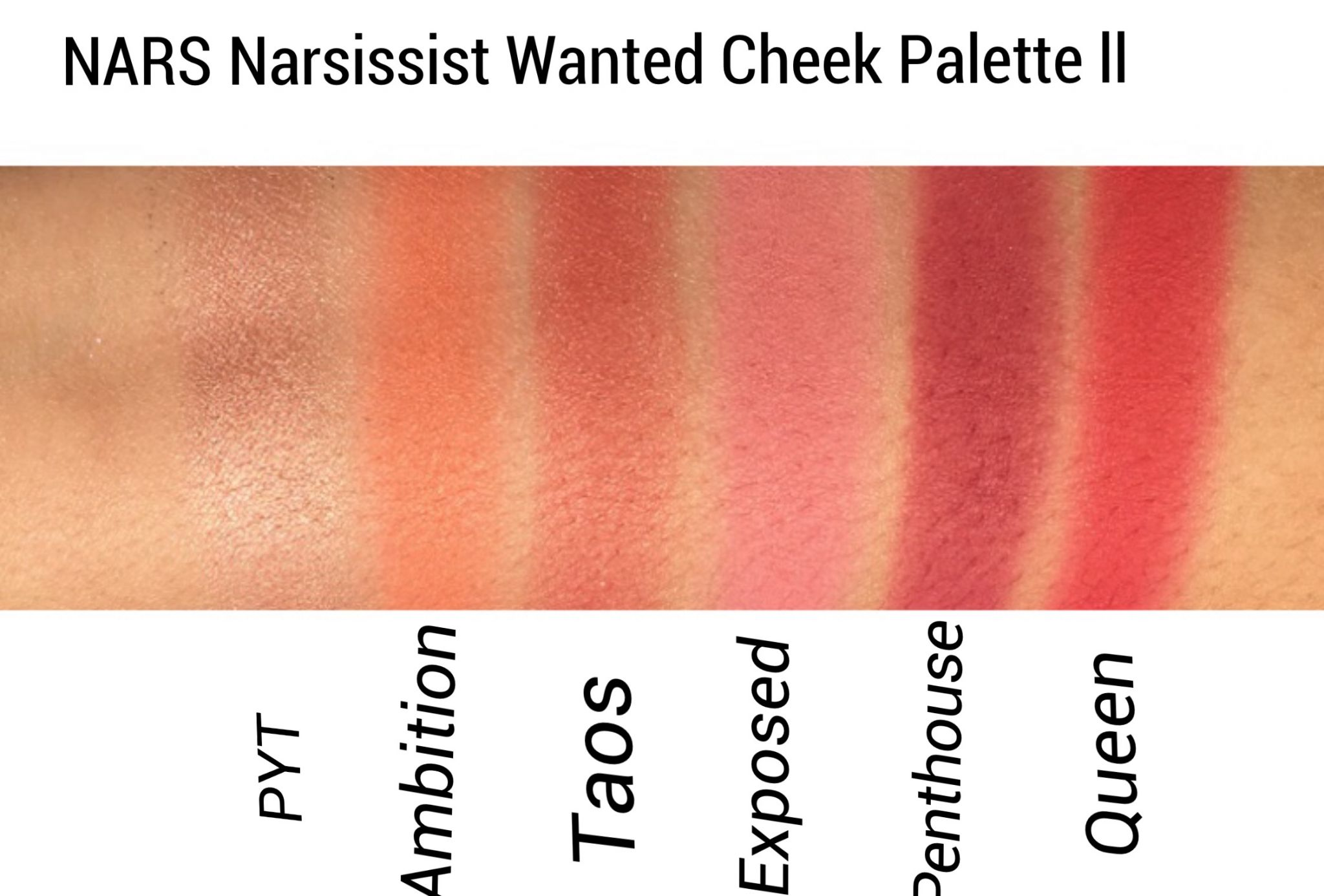 NARSissist Wanted Cheek Palette I by NARS #3