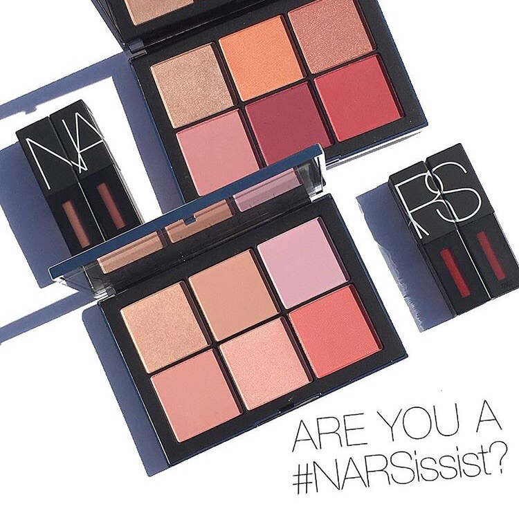 NARS Narsissist Wanted Cheek Palettes I & II & Power Pack Lip Kits Review & Swatches