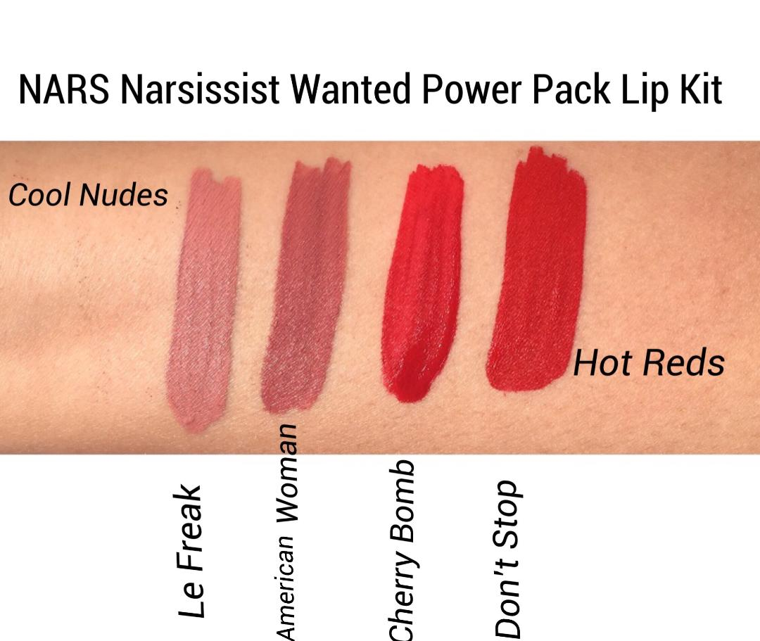 NARS Wanted Power Pack Lip Kits