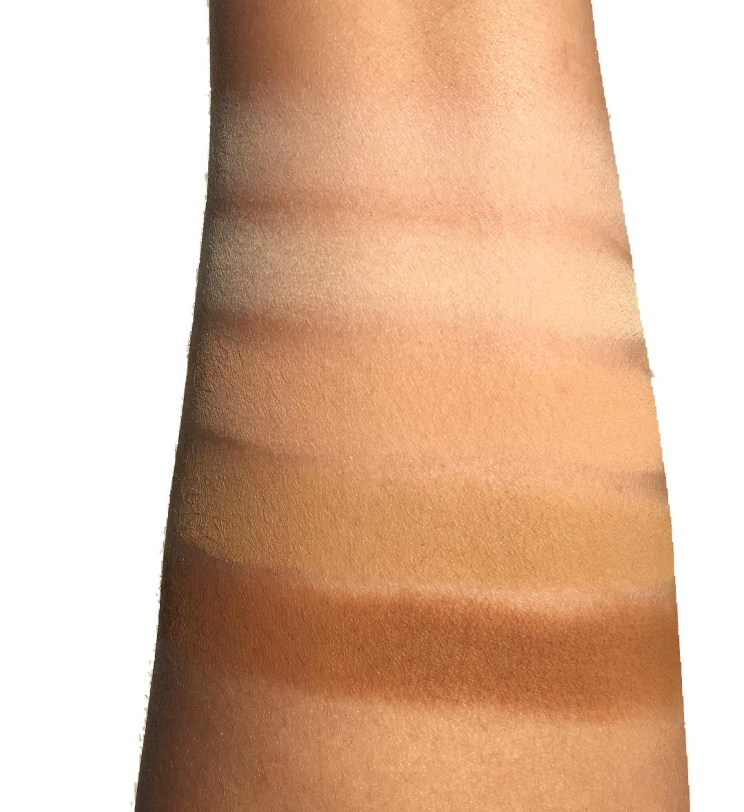 Visit Absinthe & Siren Theory Palette Swatches Kett Fixx Foundation swatches www.calibeaute.com