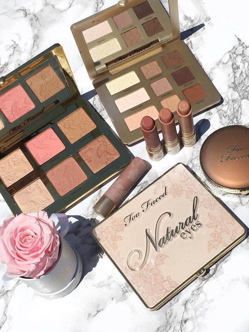Too Faced It Just Comes Naturally Collection swatches and review www.calibeaute.com