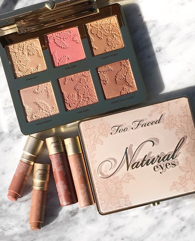 Too Faced Naturally Nude Collection Swatches and Review www.calibeaute.com