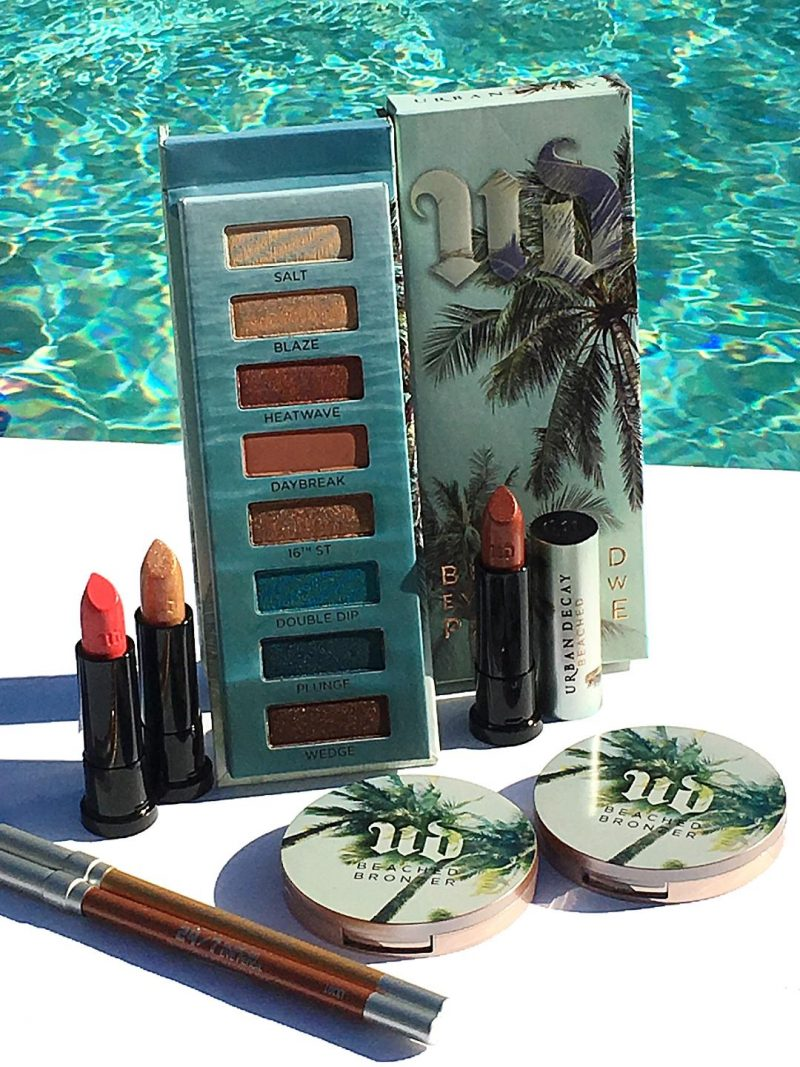 Urban Decay Beached Collection Swatches and Review www.calibeaute.com