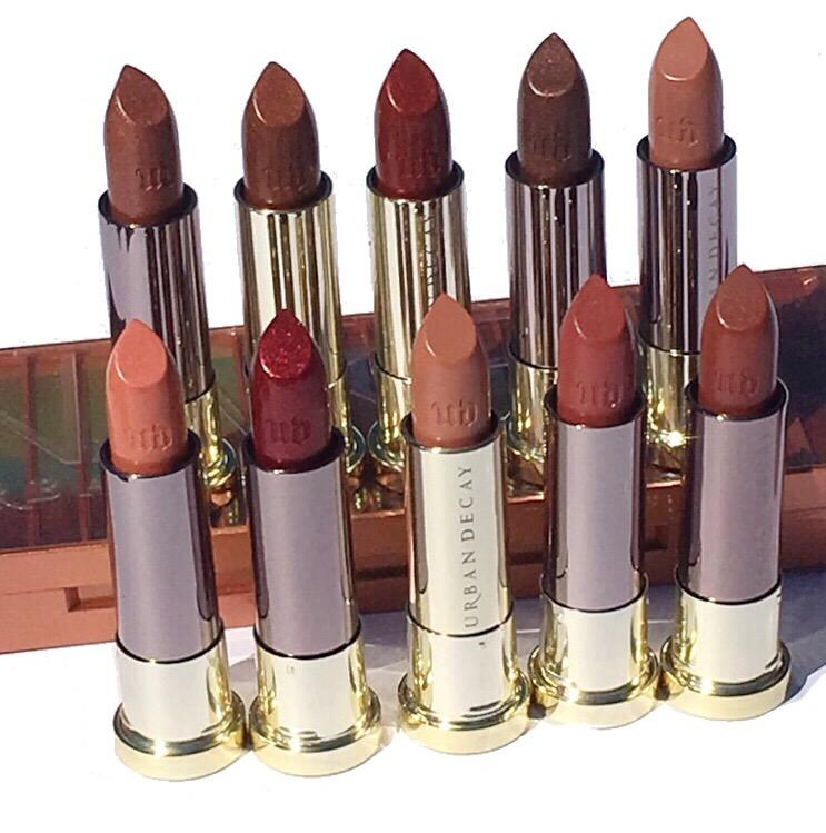 New Urban Decay Naked Heat Inspired Vice Lipsticks & Swatches