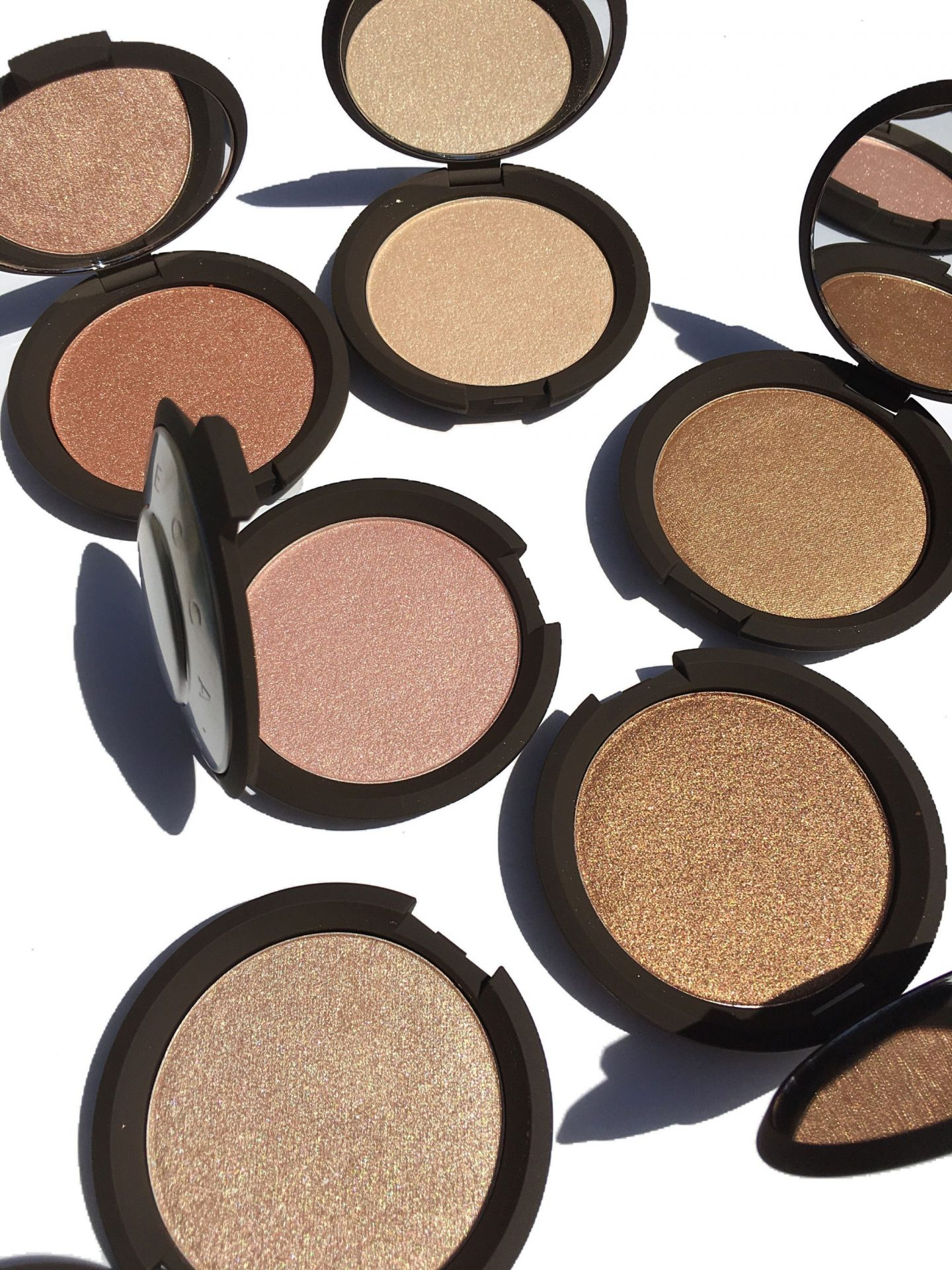 Becca Shimmering Skin Perfector Highlighters swatches www.calibeaute.com