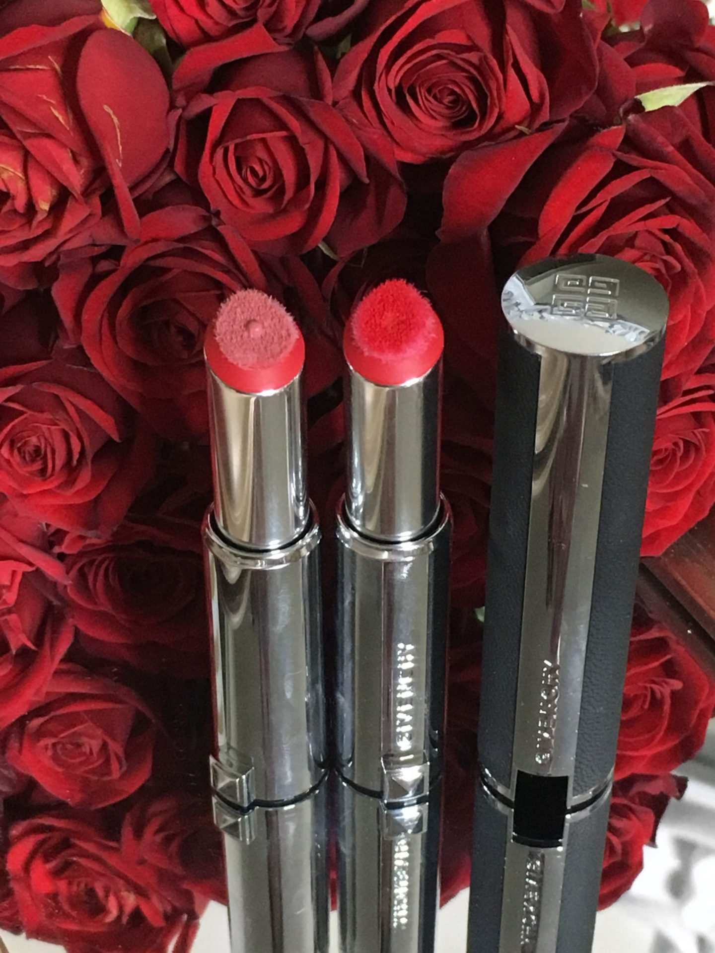 Givenchy Le Rouge Liquide Lipstick review and swatches www.calibeaute.com