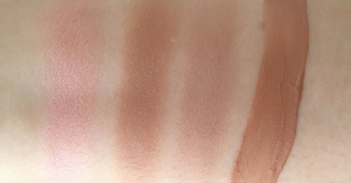 MAC Mirage Noir Collection Swatches www.calibeaute.com