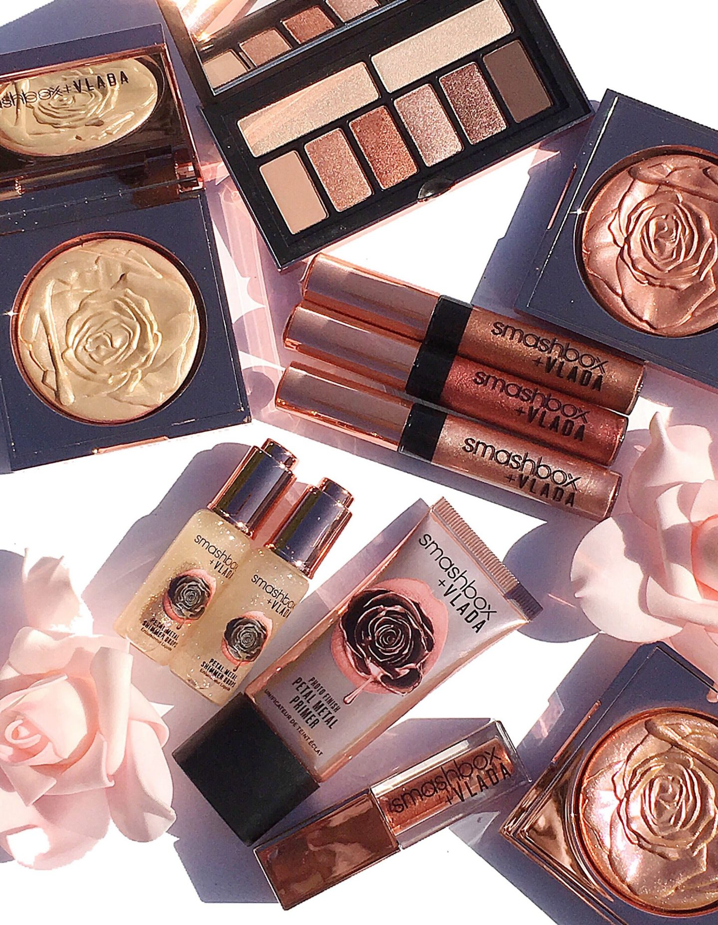 Smashbox Cosmetics x Vlada Petal Metal Collection
